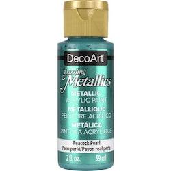 DecoArt Dazzling Metallics Peacock Pearl