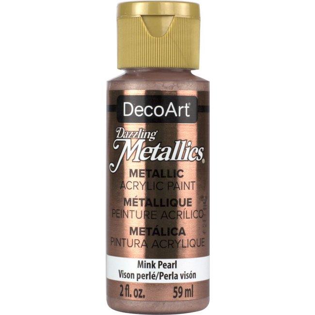 DecoArt Dazzling Metallics Mink Pearl