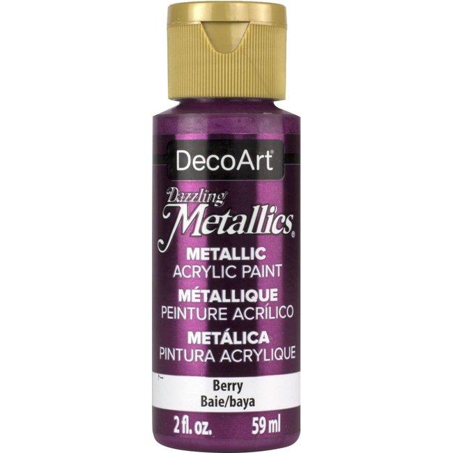 DecoArt Dazzling Metallics Berry