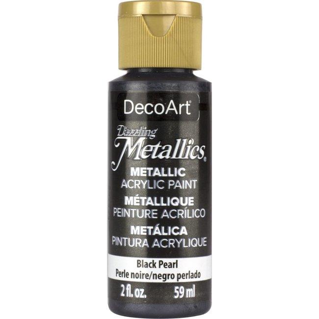 DecoArt Dazzling Metallics Black Pearl