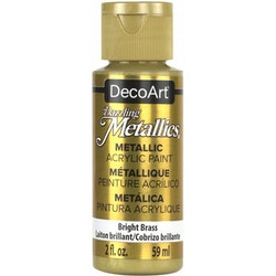 DecoArt Dazzling Metallics Bright Brass