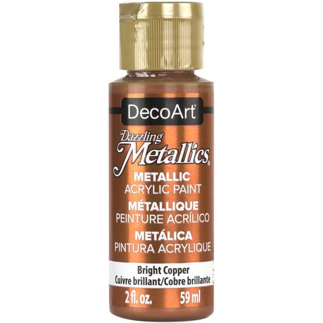 DecoArt Dazzling Metallics Bright Copper