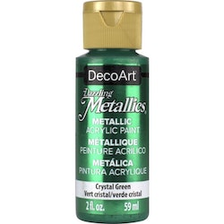 DecoArt Dazzling Metallics Crystal Green