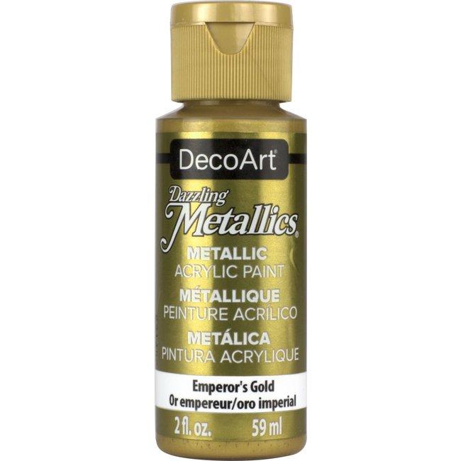 DecoArt Dazzling Metallics Emperor's Gold