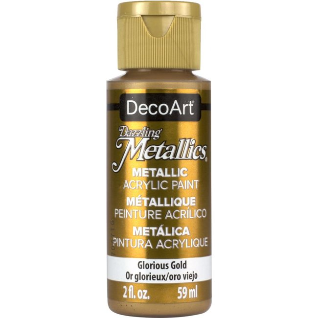 DecoArt Dazzling Metallics Glorious Gold