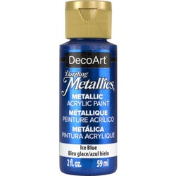 DecoArt Dazzling Metallics Ice Blue