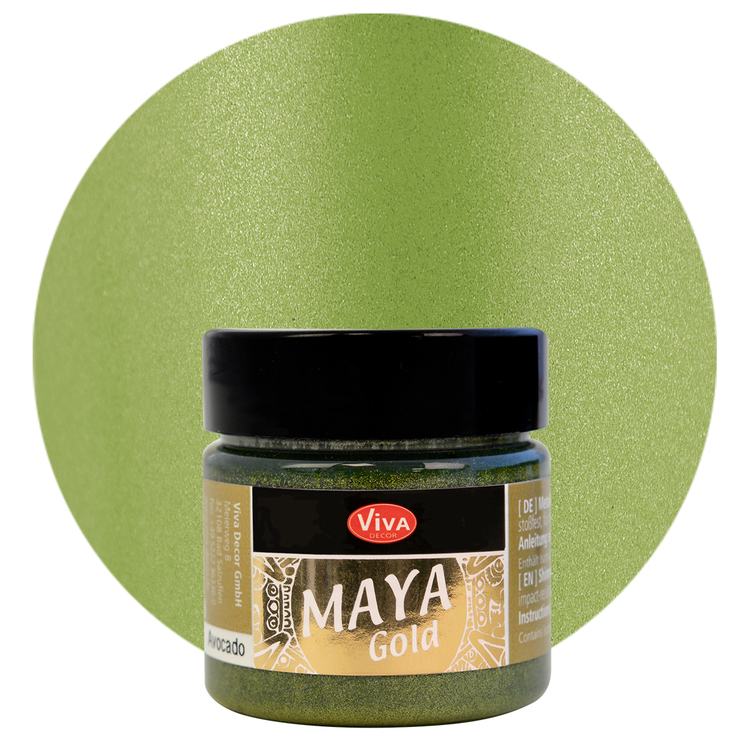 Viva Decor Maya Gold Avocado