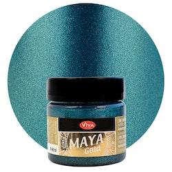 Viva Decor Maya Gold Petrol
