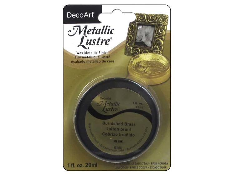 DecoArt Metallic Lustre Burnished Brass