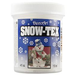 DecoArt Snow-Tex (utan glitter)