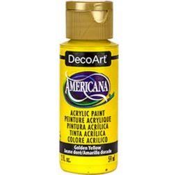 DecoArt   Americana     Golden yellow