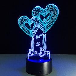 3D Led lampa R2D2 tpstore.se