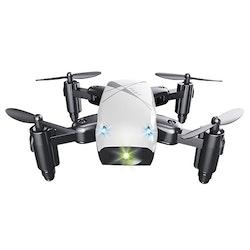 Mini Drönare Quadcopter S9 med 360 Flip och 6-axlat Gyro Vit