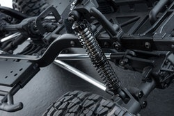 Option, MST Aluminium Stötdämpare TC80 inkl Olja