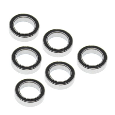 RedCat Rubber Sealed Ball Bearings 10x15x4mm (6st), RER11372