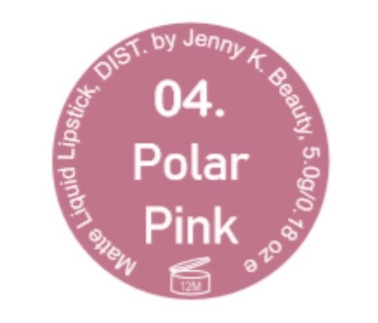 Perfect Matte Liquid Lipstick 04. Polar Pink