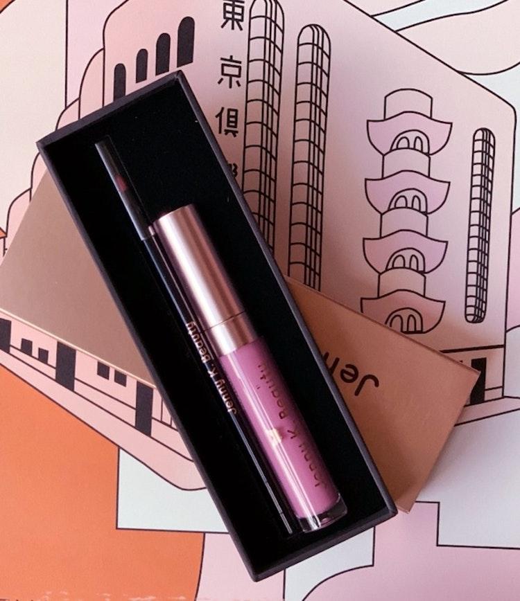 Loving Life Lip Kit ~ Matte Liquid Lipstick + Lip Liner 04. Polar Pink