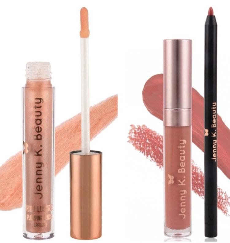 Matte Liquid Lipstick + High Lustre Plumping Gloss