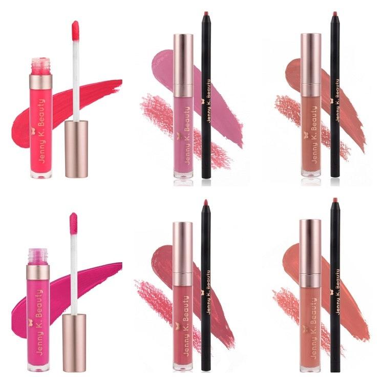 Perfect Matte Liquid Lipstick x 6