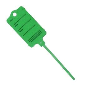 Keytag i Grön Plast