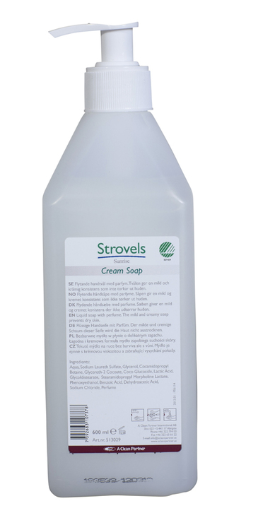 Strovels Sunrise Cream Soap 14 x 500 ml