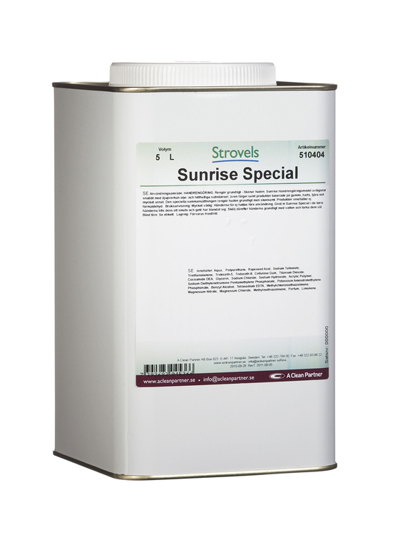 Strovels Sunrise Special 4 x 5 liter