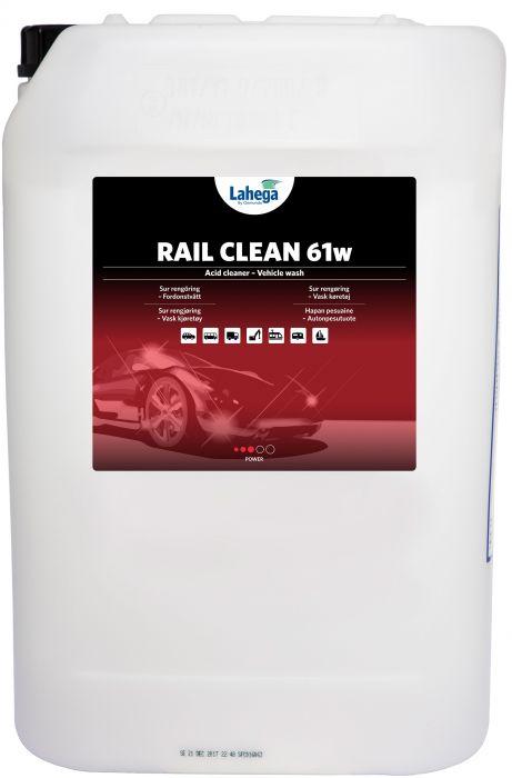 Rail Clean 61w - 25 liter