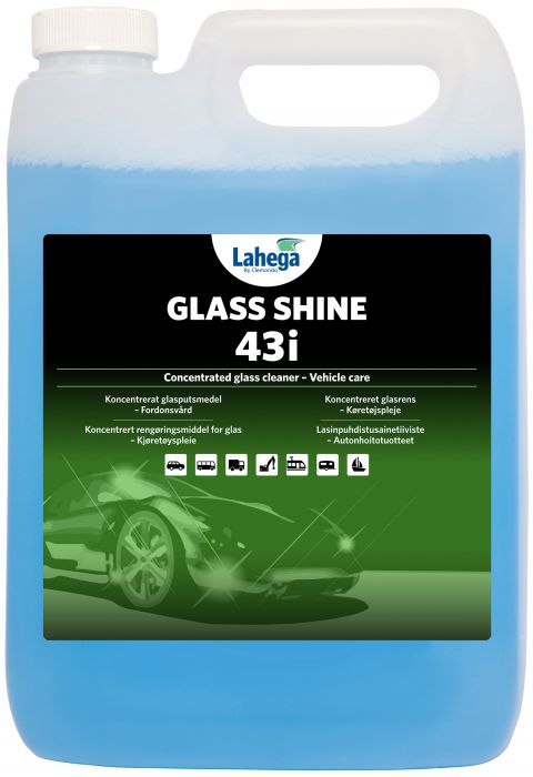 Glass Shine 43i - 5 liter