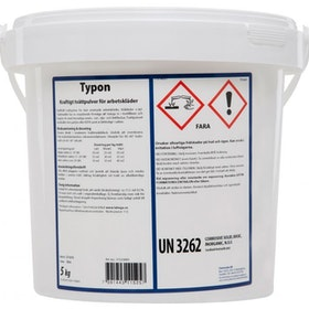Liv Typon tvättmedel för arbetskläder, 5 kg