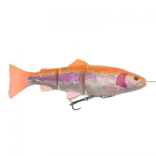 3D Line thru trout 15cm 35g Dark brown