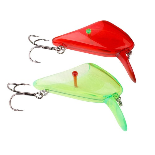 D-SG 4Play Lip Scull M #4 Treble 2pcs UV Red / Green
