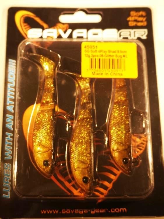 SG Soft 4Play 8,5cm 12g Glitter Bug