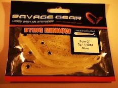 SG LB Dying Minnow 8cm 8pcs Glow