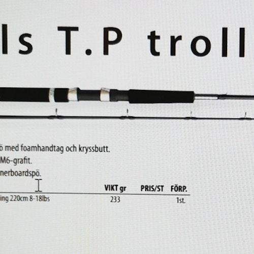 Hills TP trolling 220cm 2sec 8-18lbs