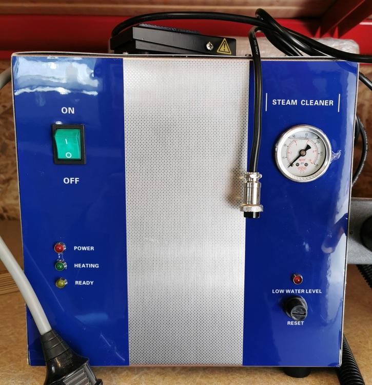 Ångtvätt stationär med pedal