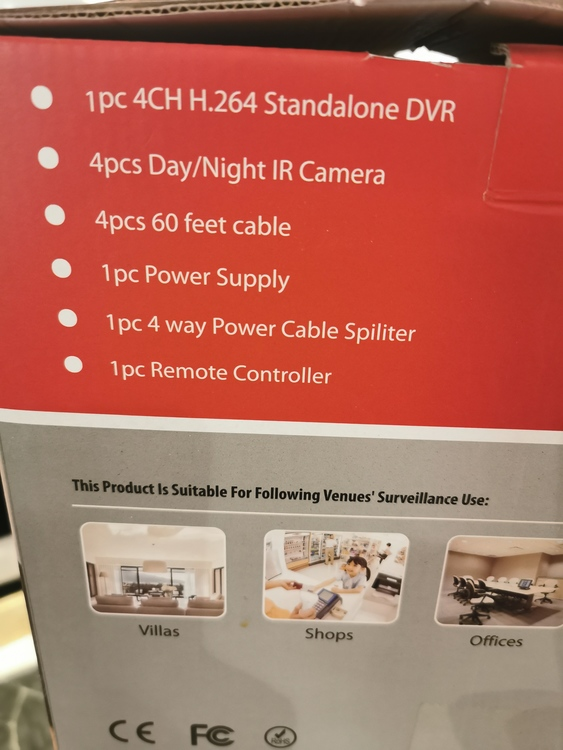 Övervakning DVR kit