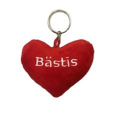 Nyckelring – Bästis hjärta