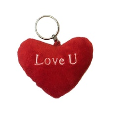 Nyckelring – Love U hjärta