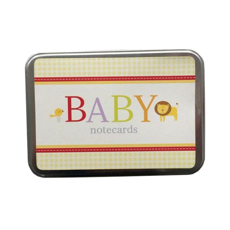 Tackkort, baby kort
