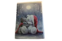 Me to you – Julkort, två nallar håller om varandra 6-pack