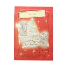Me to you – Julkort, nallar klär julgran 6-pack