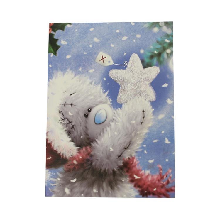 Me to you – Julkort, nalle med stjärna 6-pack