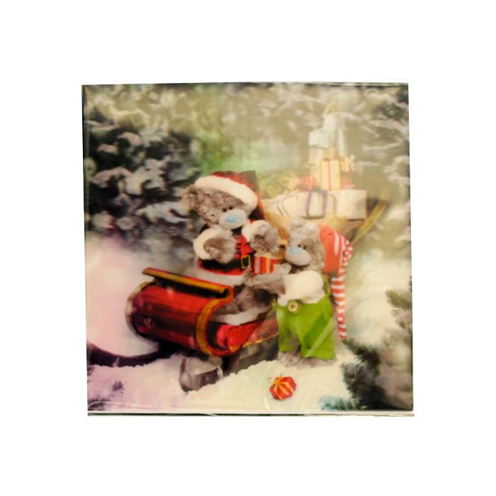 Me To You, Julkort – 3D Tomtenalle och tomtenisse