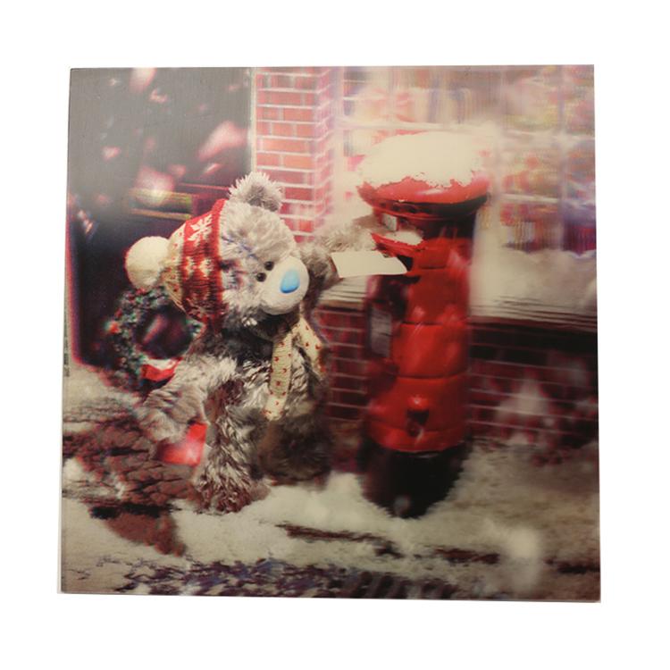 Me To You, Julkort – 3D Nalle skickar julkort