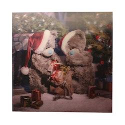 Me To You, Julkort – 3D julkort julklappsöppning