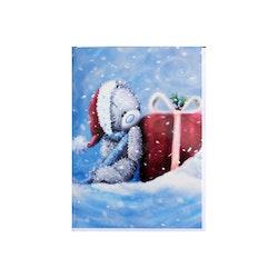 Me to you – Julkort, nalle med rött paket 6-pack