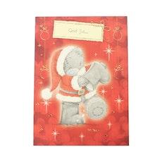 Me to you – Julkort, julnalle med stövlar