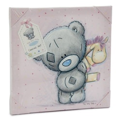 Me To You – Canvas nalle med giraff