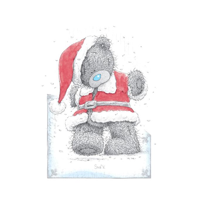 Julkort Tomte