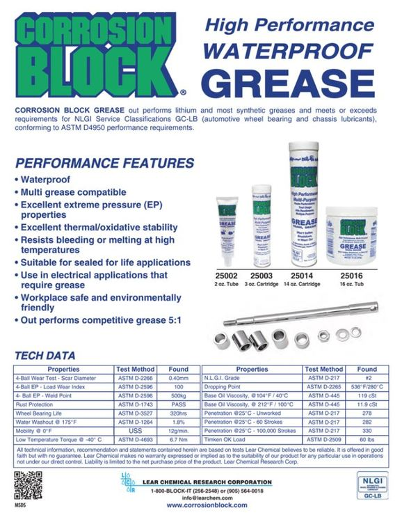 Corrosion Block  Grease